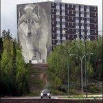 Wolf Mural Φωτογραφία
