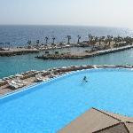 piscine et port