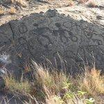 Pu'u Loa Petroglyphs Foto