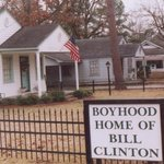 Hope, Arkansas, Bill Clinton's boyhood home-we toured a lot of neat places-on our drive to & fro