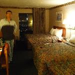 Notre chambre -simple et confortable