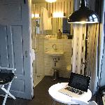 bathroom with Kiehl's amenities