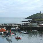 Ballycotton Harbour from the Bayview hotel