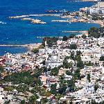 Town view of Turgutreis by yilenes
