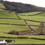 """Lace stone walls, on the way to Cong, """"The Quiet Man"""" village of John Wayne fame"""