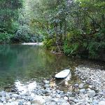 One of the swimming holes