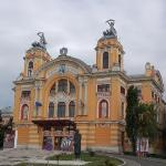 The National Theater in Cluj-Napoca built in 1906