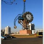 Tianjin's bronze sculpture clock  It's one of the most unusual clocks I've ever seen. I'm not