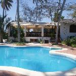 Swimming pool and dinning patio