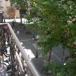 Veiw outsite on balcony room 1