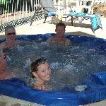 Gas Heated Spa/Hot Tub