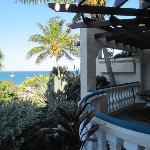 Balcony and ocean view