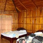 Interior de la cabina