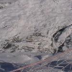 Valmeinier 1800, taken from peak above Valloire