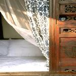Authentic traditional bed