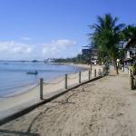 Vista de la Pousada desde la playa