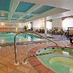 Indoor Pool + Whirlpool