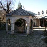 Garden in front of the Koskin-Mehmed Pasha's Mosque