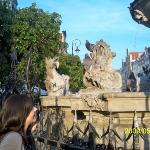 the birds of Neptune Fountain