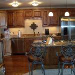 Picture of our kitchen.