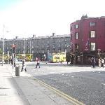 D'Olier street, in fondo a destra c'è il Trinity!