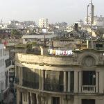 Vue de la terrasse de l'Hotel de Paris