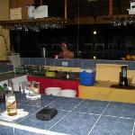 Seastar swimup bar