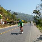 Für Radsport ideale Bedingungen - Gute Strassen, wenig Verkehr