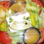 Delicious salad grab & go option!
