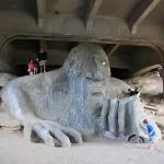 The Fremont Troll on Troll Ave.