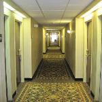 hotel hallways camera monitored