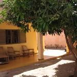 the nice courtyard