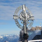 On top of the Zugspitz