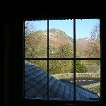 View of Helm Crag from our window.