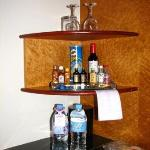 Nothing is free at the mini bar .... Water A$6...