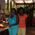 Me and my sister Vonnie at Sunday Brunch