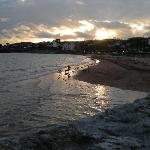 Torre Abbey Beach in February...early evening
