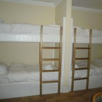 Bunk beds in the family room