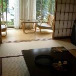 Una stanza in stile giapponease all'Aeria di Tohno