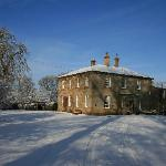 The Mansion in the snow