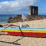 The port and banka boat