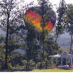 Hot-air Balloon flights are available year round.  Imagine yourself finishing up a fabulous brea