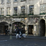 Garfunkels on the Royal Mile