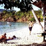 Post-ride relaxation at Honeymoon Beach