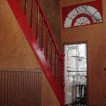 Escalier vers les 3 chambres