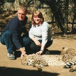 Bethan and I in South Africa