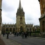 """Christ's College is used in filming Harry Potter...this is Oxford University."""