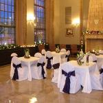 The Sunlit Room Set For An Event