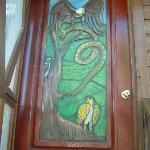 door to my second floor room