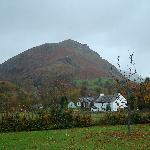 Helm Crag from Glenthorne garden.